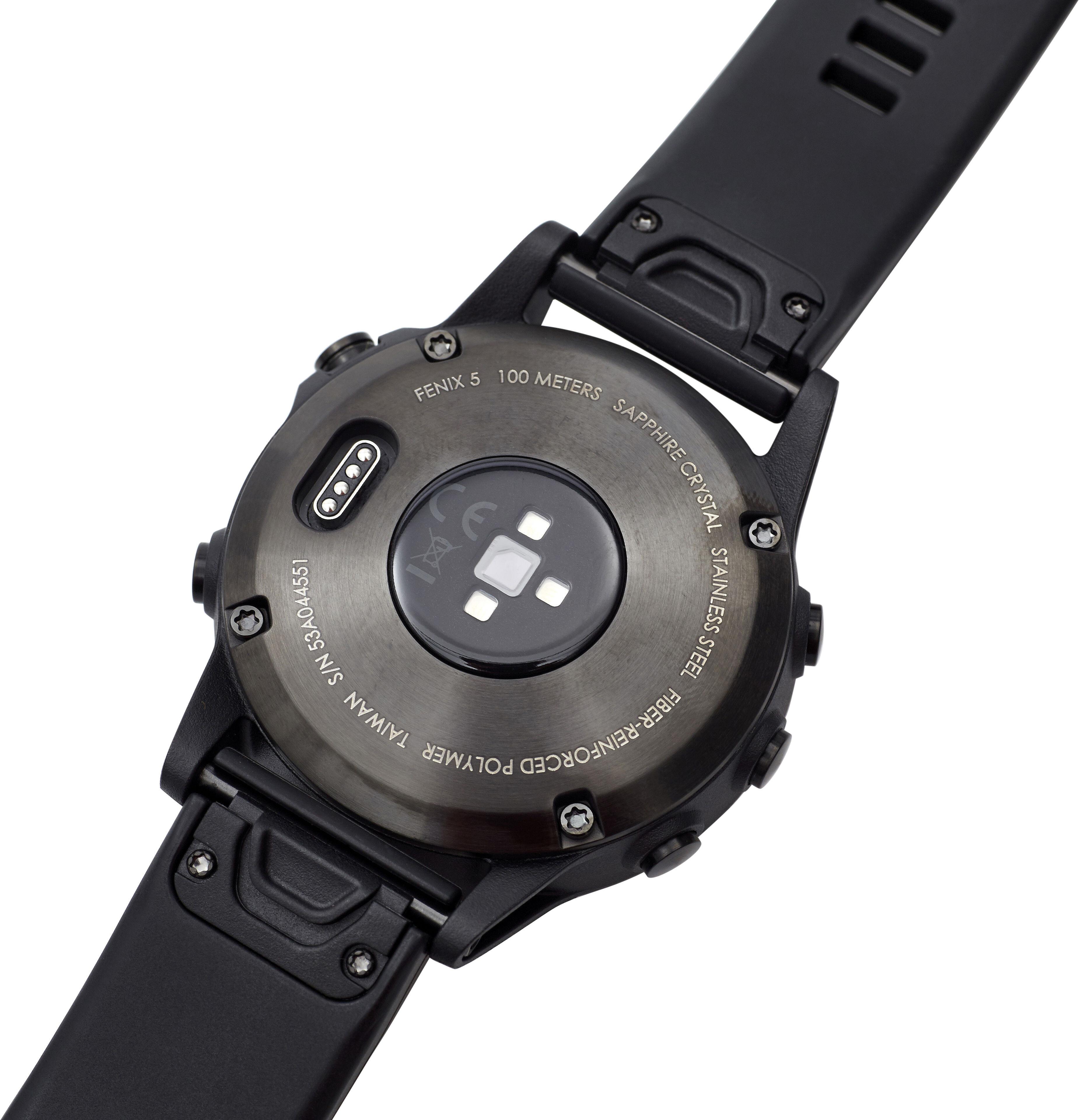 Garmin Fenix 5 Saphir Gps Uhr Performer Bundle Premium Hrm Tri Suunto Traverse Black Outdoor Watches With Glonass Brustgurt Quickfit